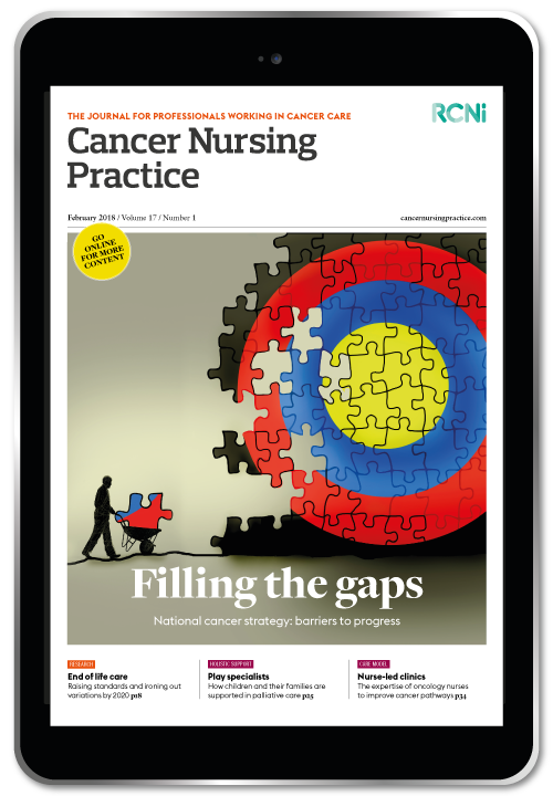Cancer Nursing Practice