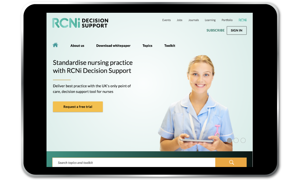 Subscribe to RCNi Decision Support